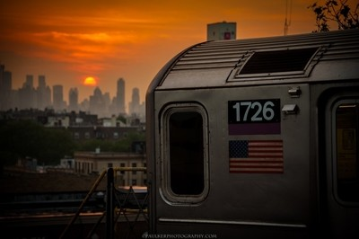 Subway Sunset