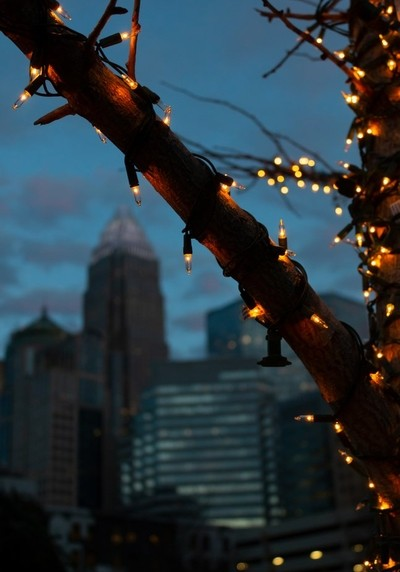 Uptown Holiday Lights