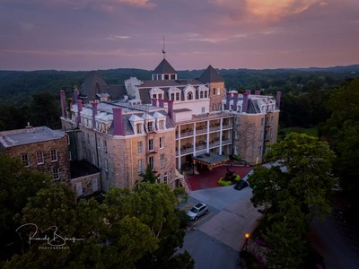 Crescent HCresent Hotel, The most haunted hotel in the United States.