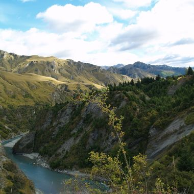 remote  section of New Zealand  in the south Island