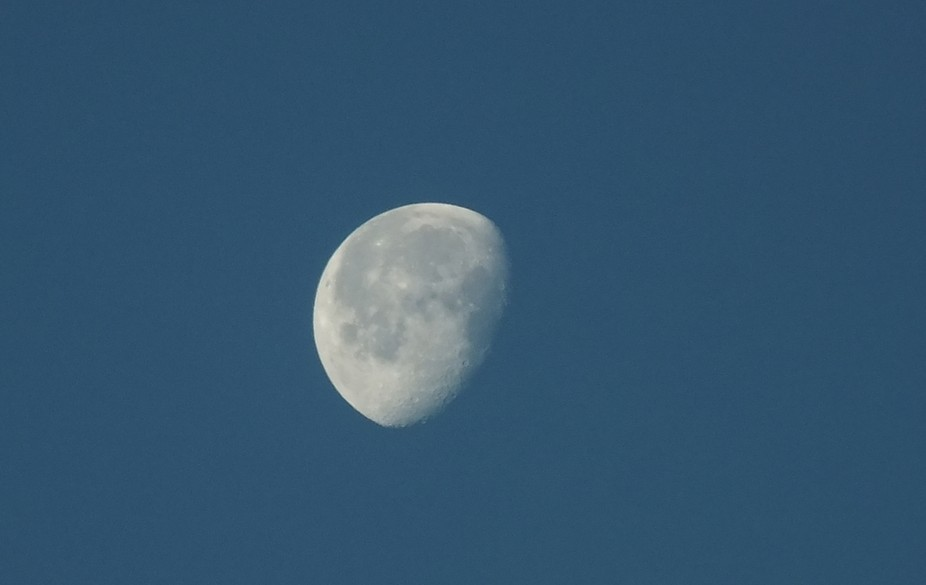 Taken in mid afternoon, my first moonshot.