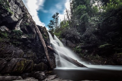 Abrams Falls in the Great Smoky Mountains