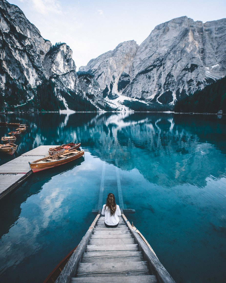 Soending the morning to explore the aera of this beautiful lake. by i_caring - Creative Landscapes Photo Contest vol3