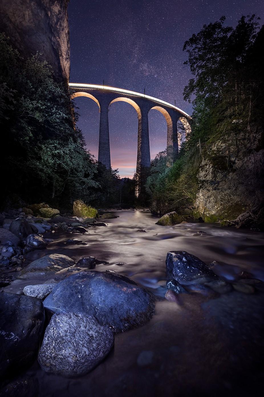 Landwasserviadukt by Axel-Jusseit - Night Wonders Photo Contest