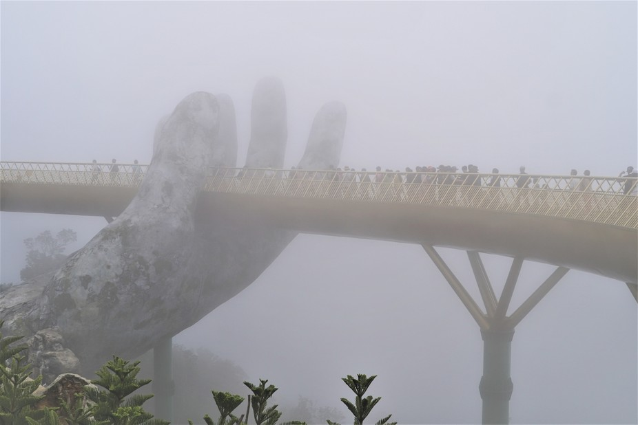 Golden Bridge Da Nang Viet Nam