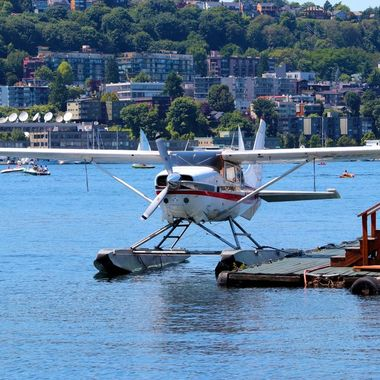 Seaplanes on Lake Union