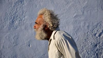 Greek old man