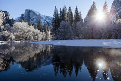 Beautiful morning in Yosemite