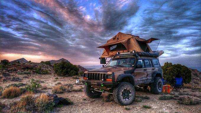 UFO Camp by daverosenfeld - We Love Cars Photo Contest