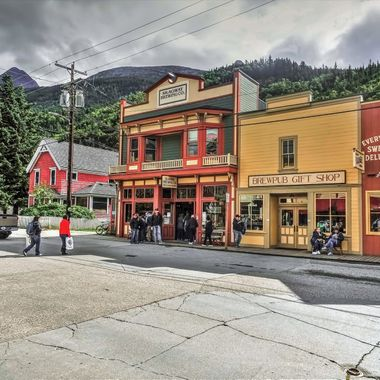 "The Skagway Brewing Co first opened it's doors in 1897. It closed it's doors in 1904 when the Gold Rush began to decline. In 1916 Alaska passed the ""Alaskan Bone Dry Law"" which brought an end to the production and consumption of alcohol in Alaska"