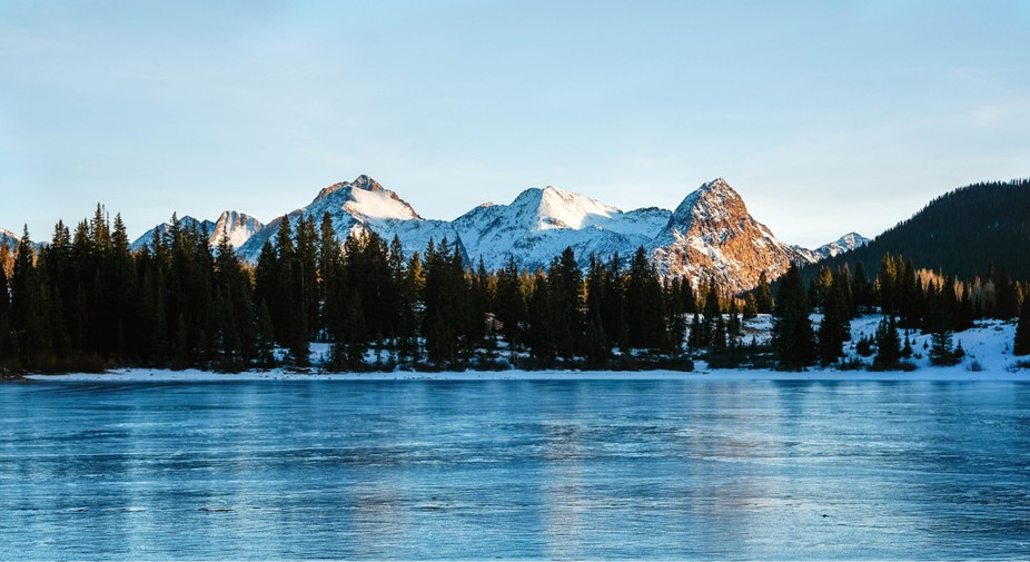 Frozen Molas Lake