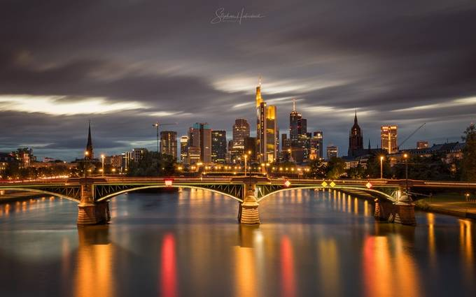 Frankfurt, Germany by StephanH - Bright City Lights Photo Contest