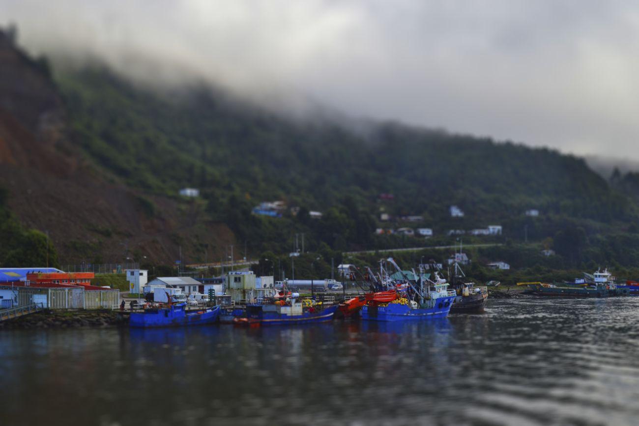 Botes en Valdivia
