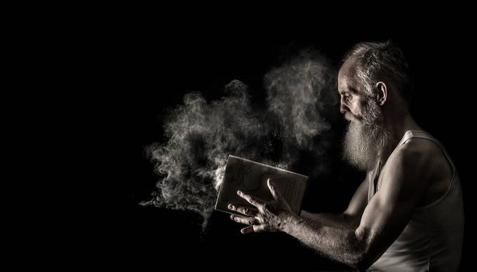 Knowledge is power copy by tonyjamesandersson - Beards and Mustaches Photo Contest