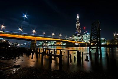 London Bridge from Dowgate dock