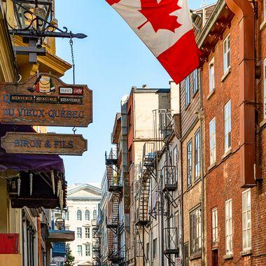 Street on Quebec
