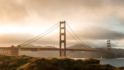 Golden Gate Golden Sky