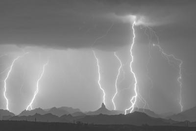 Arizona Monsoon Thunderstorm