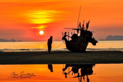 the fisherman and the boat