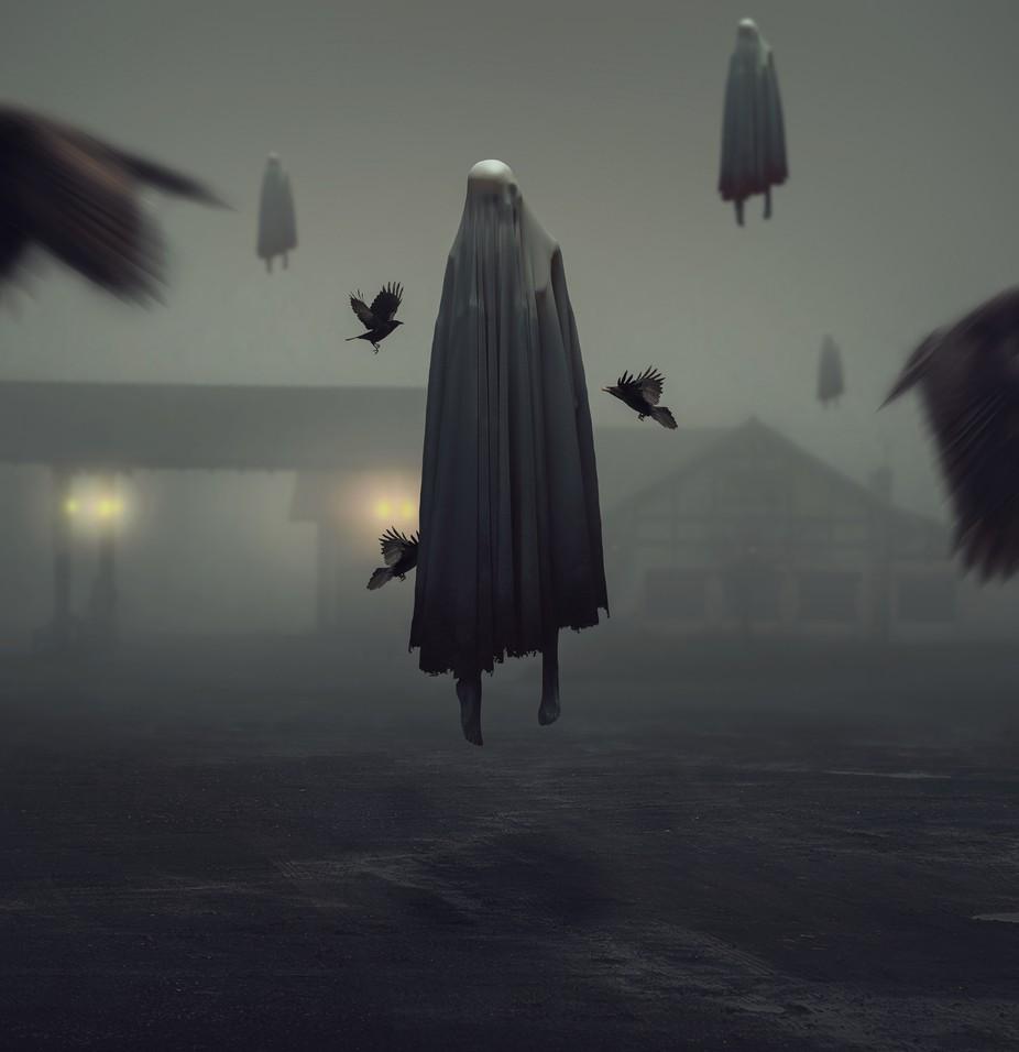 A Ghosts Past by Kavanthekid - Levitation Art Photo Contest