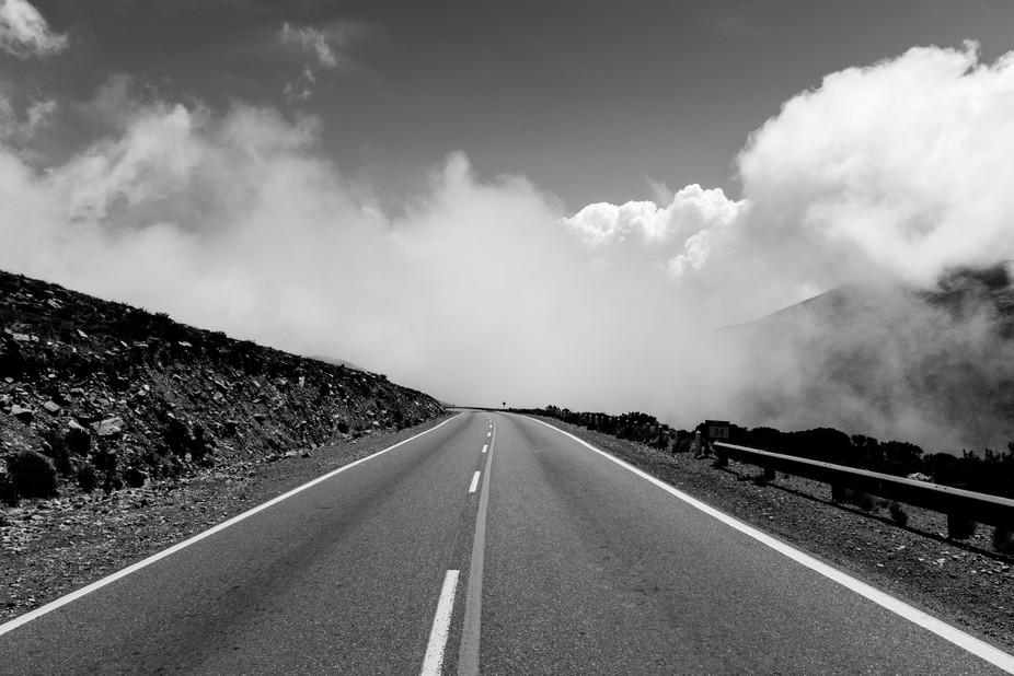 Nubes en la ruta