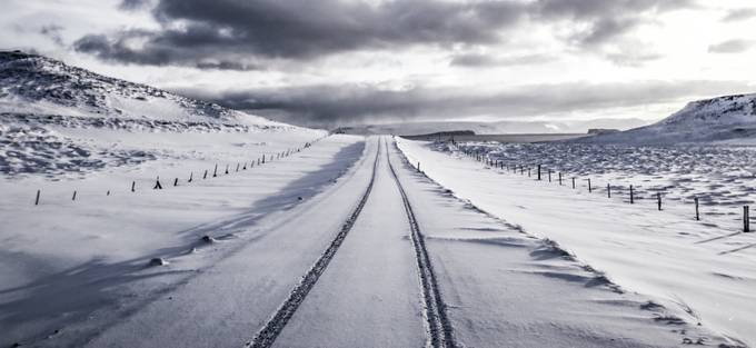 Follow the tracks by jasongines - Winter Roads Photo Contest