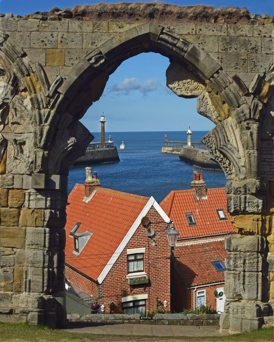 Window to Whitby Harbour