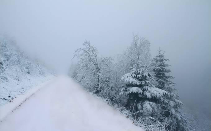 Winter Road by AngeVogel - Winter Roads Photo Contest