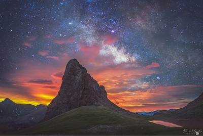 Dragon's Tooth Milky Way