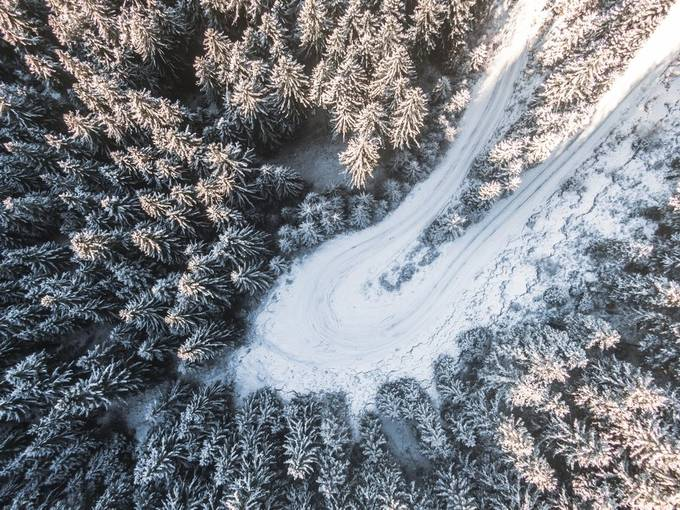 drone 2 by edvinnyitrai - We Love The Winter Photo Contest