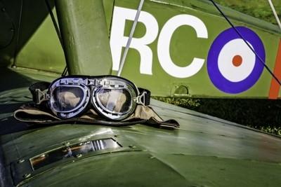 Flight Goggles & Helmet, Sopwith Camel