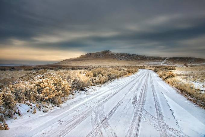 A Travelled Road by heathermcfw - Straight Roads Photo Contest