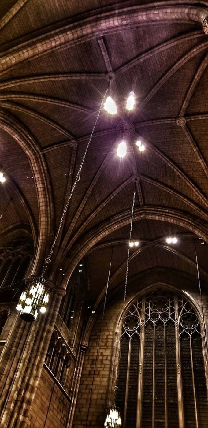 Holiday concert in the Gothic Princeton Chapel