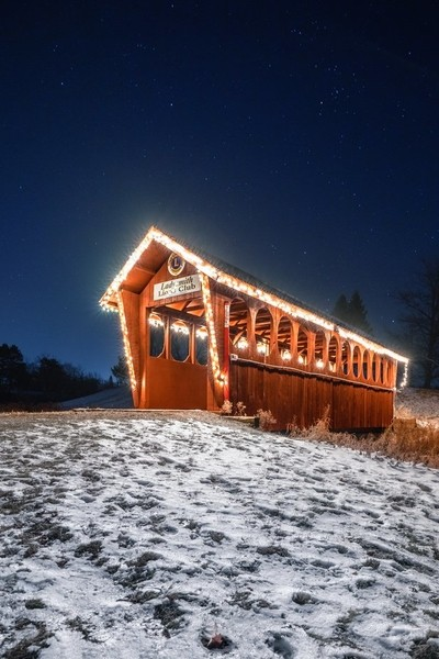 Festive Footbridge
