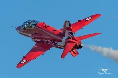 10-12-18 Red 7 Jon Bond winter training at RAF Scampton