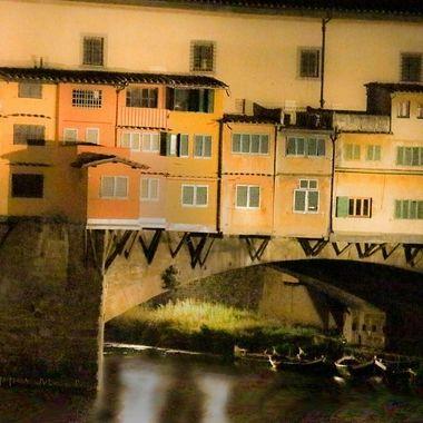 Ponte Vecchio di notte 2