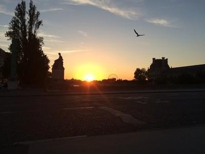 France at Sunset