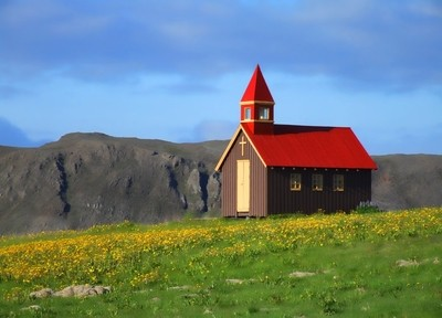 Church in Iceland.
