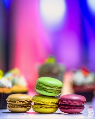 Psychedelic macaroons
