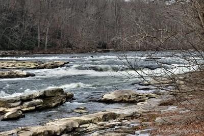 Ohiopyle Falls in December