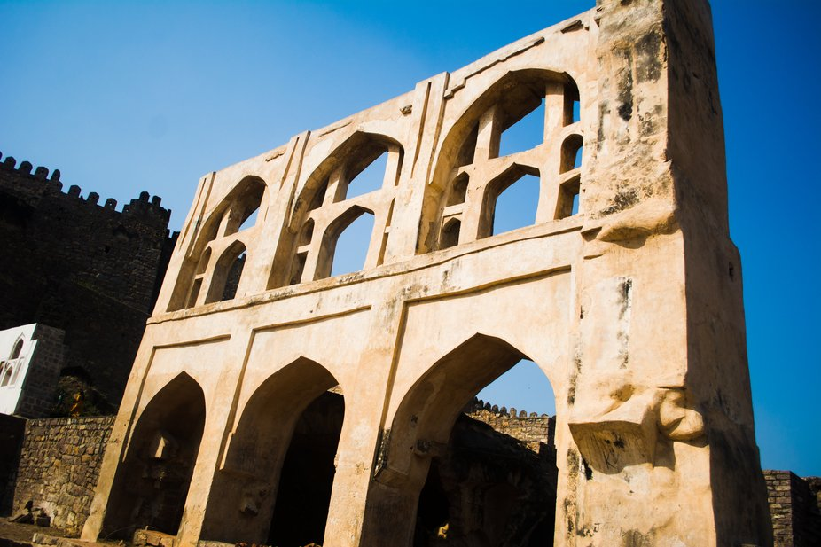 Golconda Fort of Hyderabad