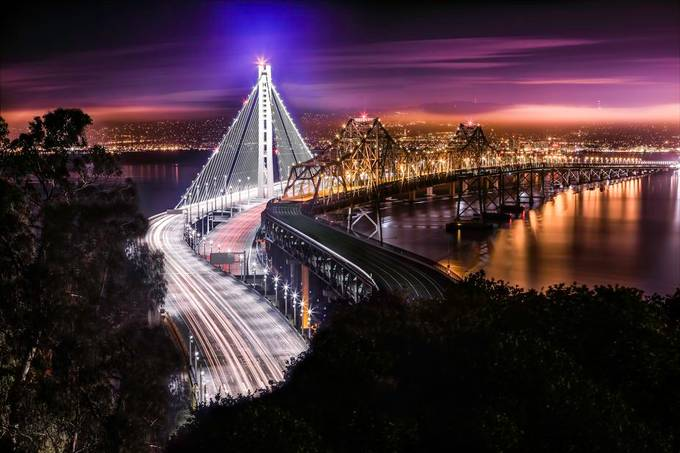 New Span by PhotoWorks - Bright City Lights Photo Contest