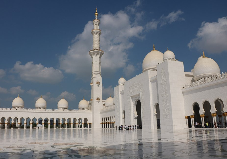 Mosque Al Zayed, Abu Dhabi