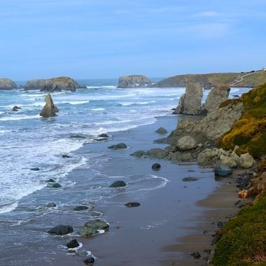 Florence coast line