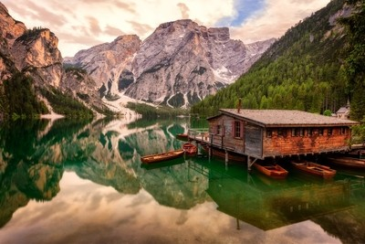 Braies Lake | Dolomites, Italy