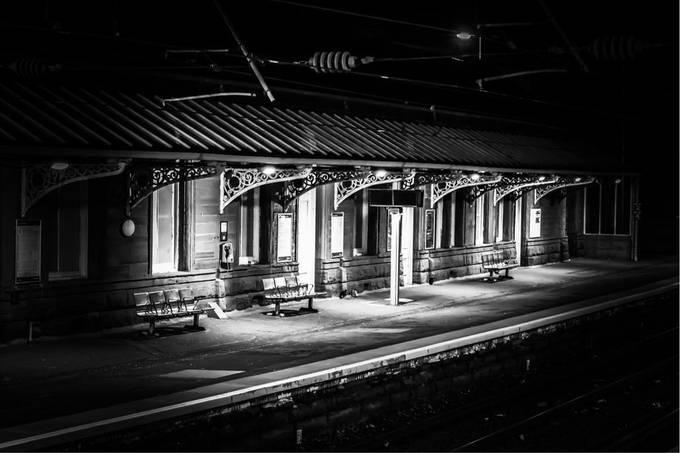 Night Photography  by manoliharalambakis - Public Transport Hubs Photo Contest