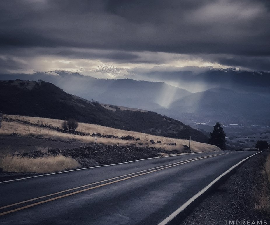 My daily drive into work.The weather had been a bit moody some rain,freeze at night,some snow.On ...