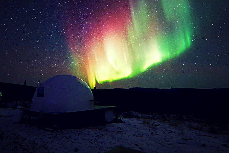 Aurora Borealis Basecamp