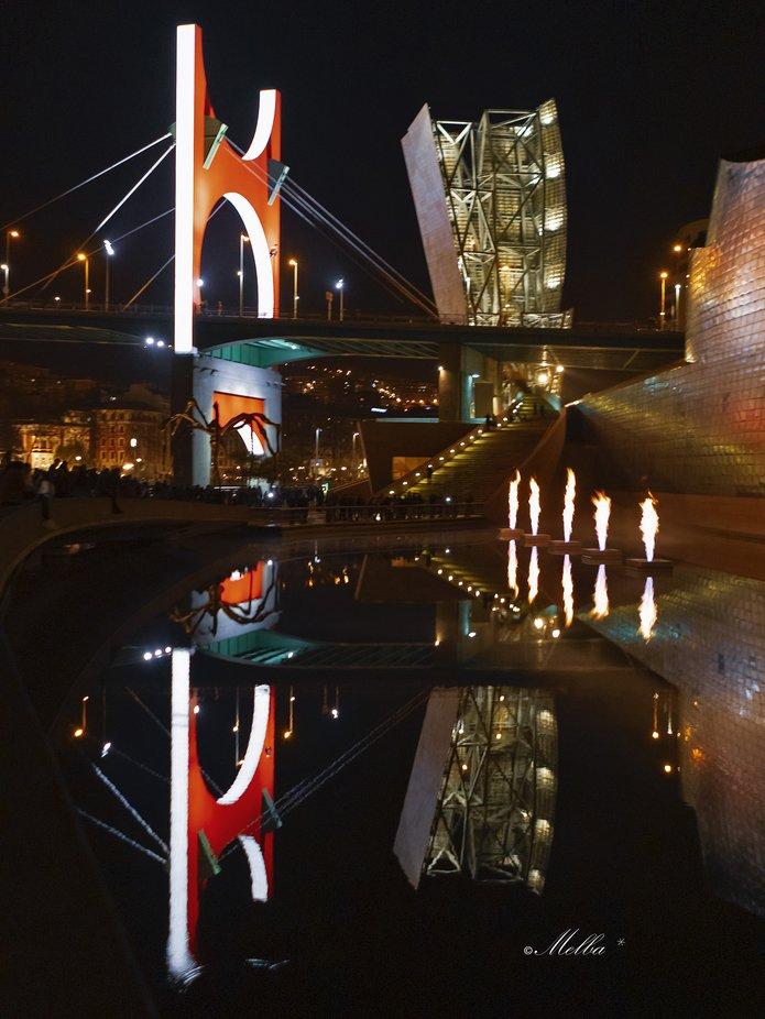 Bilbao by Txilekoa - Bright City Lights Photo Contest
