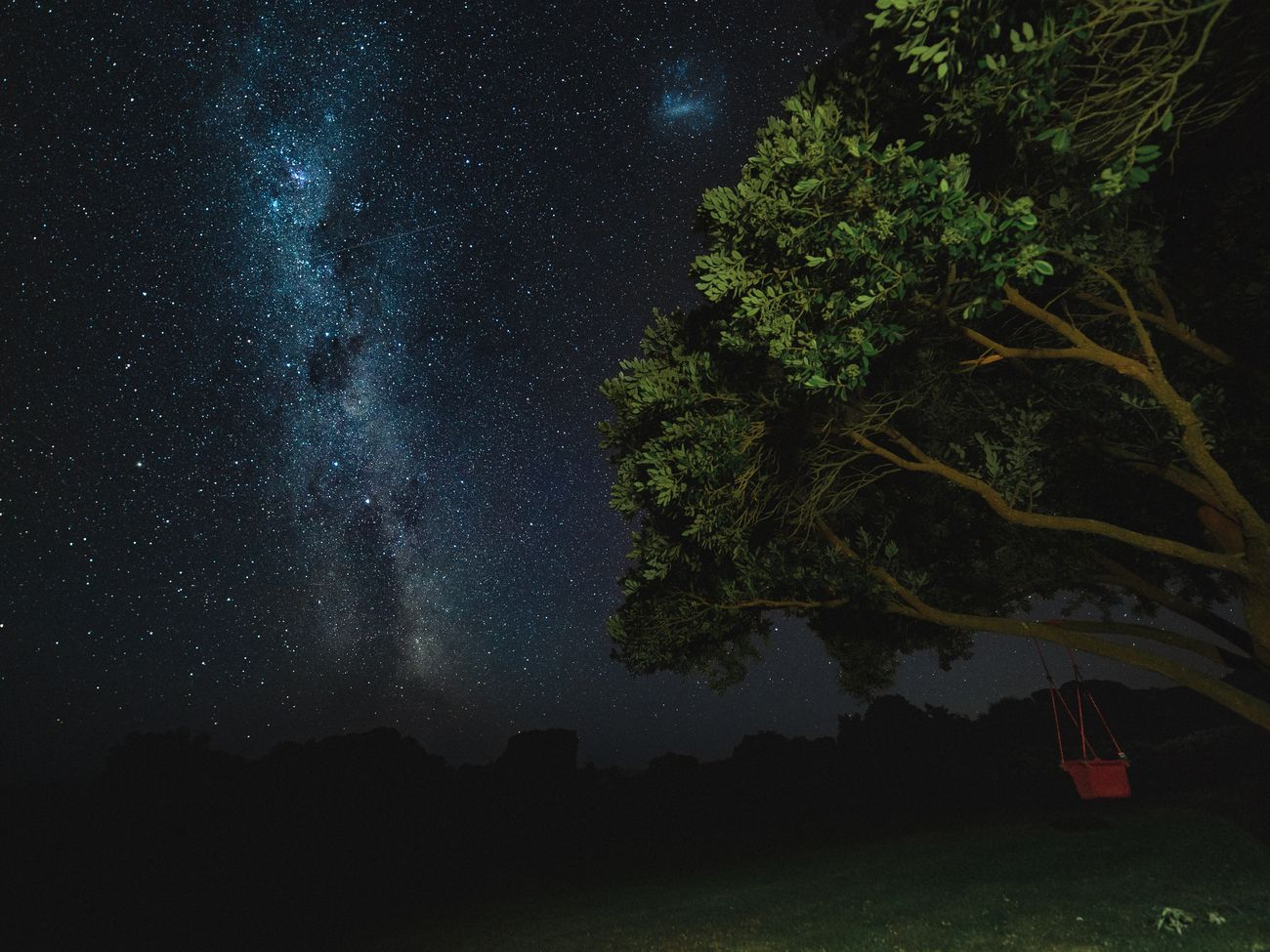 Having the milky way in your garden is best of luxury isn't it !